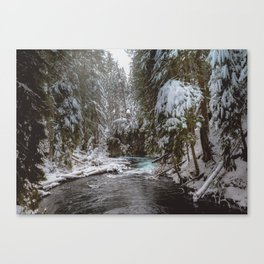 A Quiet Place - Pacific Northwest Nature Photography Canvas Print