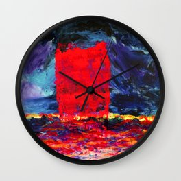 Raspberry Tsunami Wall Clock