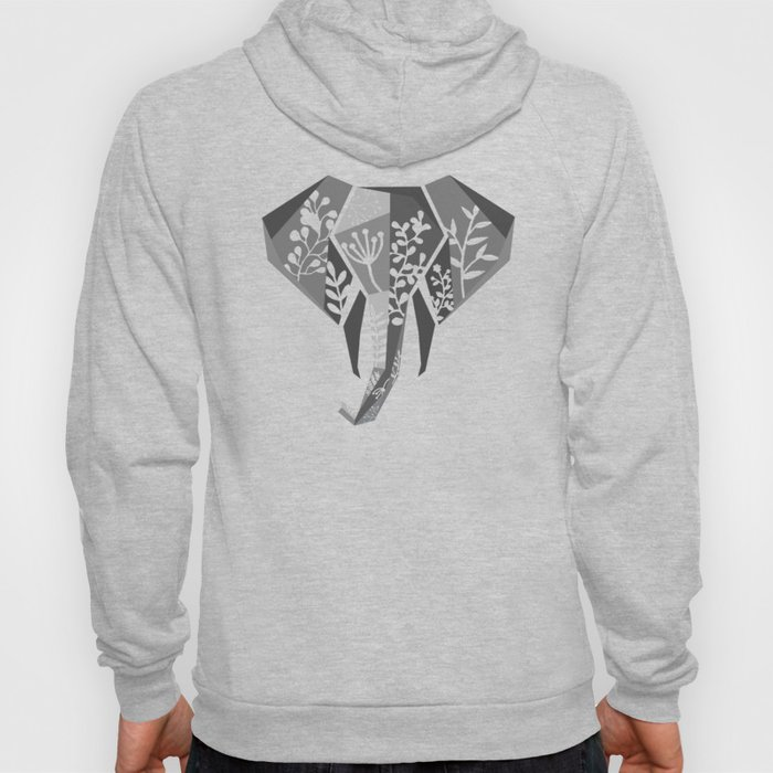 Jungle Elephant Hoody