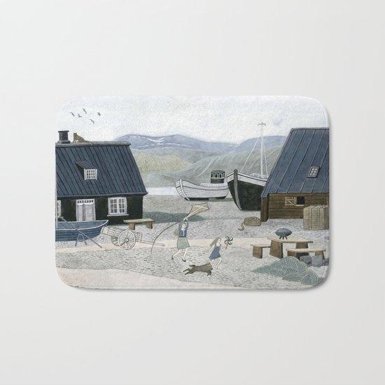 North Fishing Village Bath Mat