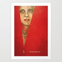 buffy the vampire slayer Art Prints featuring Buffy the Vampire Slayer by Mina Liu