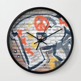 Peace Street Wall Clock