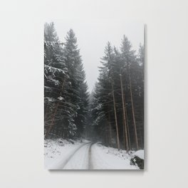 Frosty Morning | Nature and Landscape Photography Metal Print