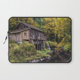 Cedar Creek Grist Mill Laptop Sleeve