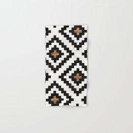Urban Tribal Pattern No.16 - Aztec - Concrete and Wood Hand & Bath Towel