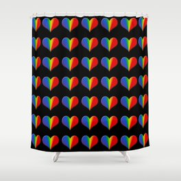 Valentines Day Heart Collection 2 Shower Curtain