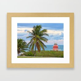 Miami Beach, Florida Framed Art Print