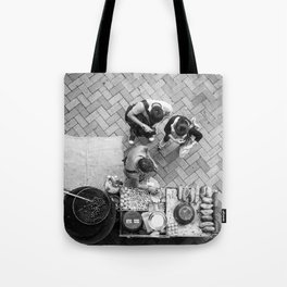 A Meeting of the Minds Tote Bag