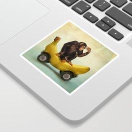 Chimp my Ride Sticker