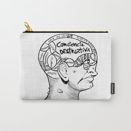 · Phrenology ·  Carry-All Pouch