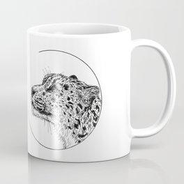 Snow leopard - Panthera uncia Coffee Mug