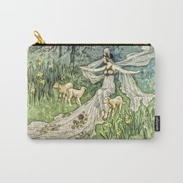 Fairy in the Meadow Carry-All Pouch