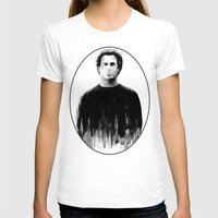 snl T-shirts featuring DARK COMEDIANS: Will Ferrell by Zombie Rust