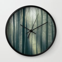 Misty Morning Light IV Wall Clock