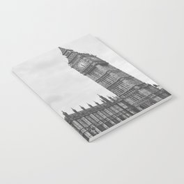Big Ben in Black and White - London Notebook
