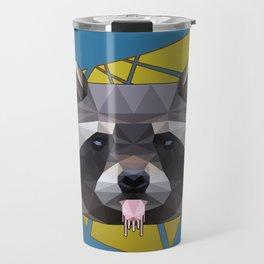 Naughty Raccoon Travel Mug