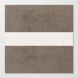 brown classic Canvas Print