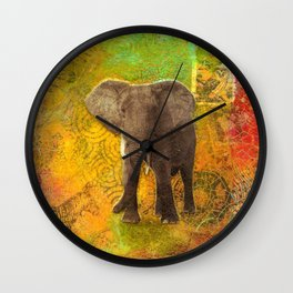 The Elephant in my Dream Wall Clock