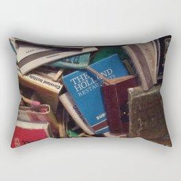 matchbook collection Rectangular Pillow