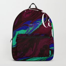 I Love You Valentines day abstract gift Backpack