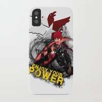 """infamous iPhone & iPod Cases featuring InFamous Second Son - """"ENJOY YOUR POWER"""" by Emme Gray"""
