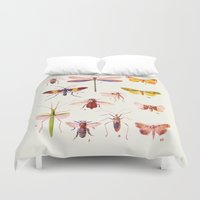 alisa burke Duvet Covers featuring Beautiful Creatures by 83 Oranges™