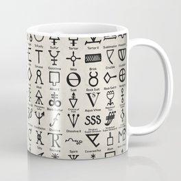 Symbols Of Alchemists Coffee Mug
