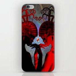 Poseidon's Wife iPhone Skin