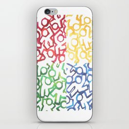 Stop, Yield, Go, Party iPhone Skin