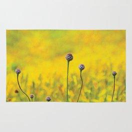 Summer ~ yellow Rug
