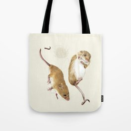 Harvest mice Tote Bag