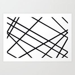 Related Lines Art Print