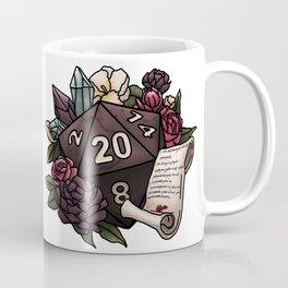 Warlock Class D20 - Tabletop Gaming Dice Coffee Mug