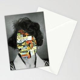 Gala mit Gipskopf Stationery Cards