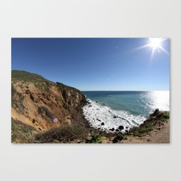 Cliffs of Point Dume Canvas Print
