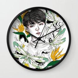 BTS Jungkook Wall Clock
