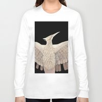 mockingjay Long Sleeve T-shirts featuring The Mockingjay. by Lithh