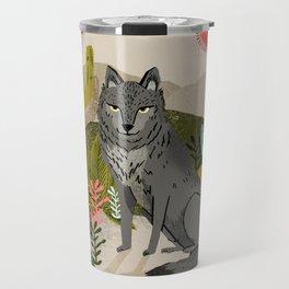 Wolf by Andrea Lauren  Travel Mug
