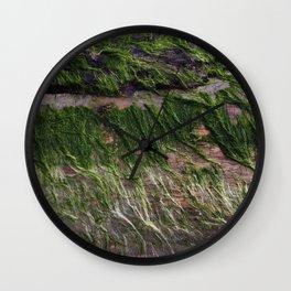 ocean wood Wall Clock