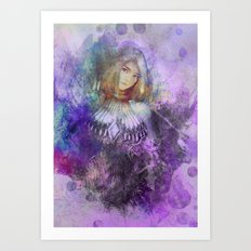 Minnowing Art Print