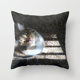 You Were Saying? Throw Pillow