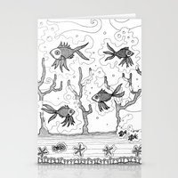 underwater Stationery Cards featuring Underwater by Condor