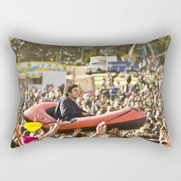 Slam Sur un Bateau // Crowd Boating, Falls Festival - Australie/Australia  Rectangular Pillow
