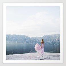 Pastel summer Art Print