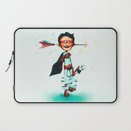 Super Hero In Love Laptop Sleeve