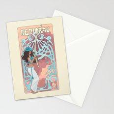 Capoeira 898 Stationery Cards