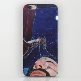 Sting that face iPhone Skin