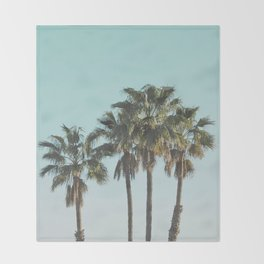 Los Angeles Throw Blanket