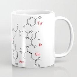 Oxytocin Molecule Coffee Mug