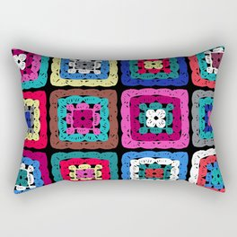 Granny Square Rectangular Pillow